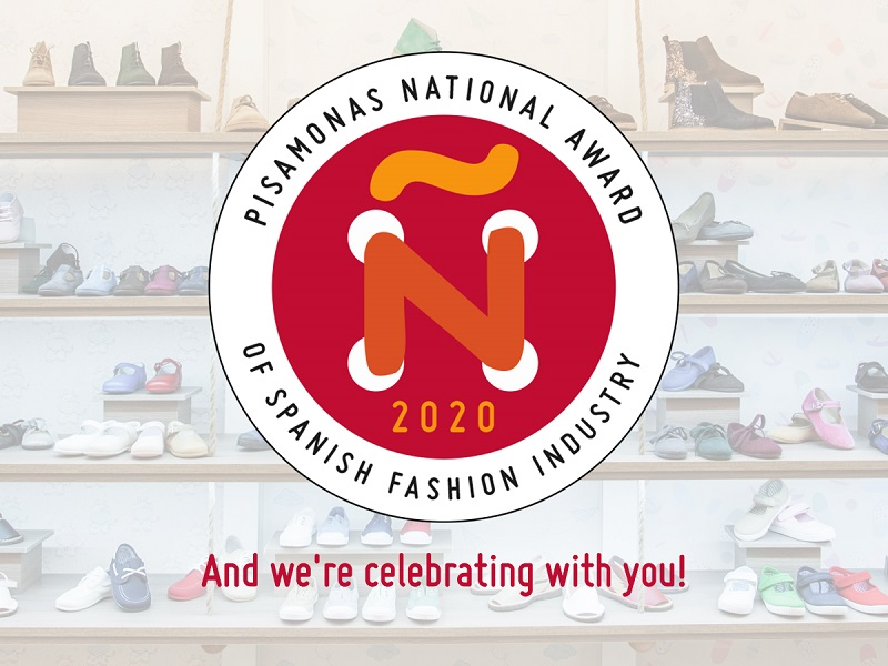 PISAMONAS RECEIVES AN AWARD AT THE SPANISH NATIONAL FASHION INDUSTRY AWARDS 2020!