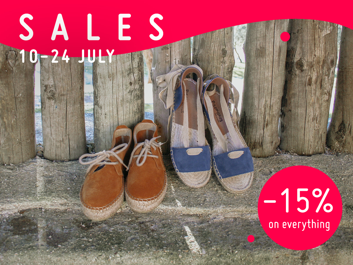 The Pisamonas summer sale is here