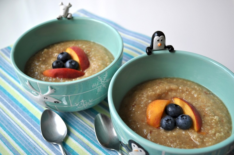Recipes for children with the most fashionable foods!