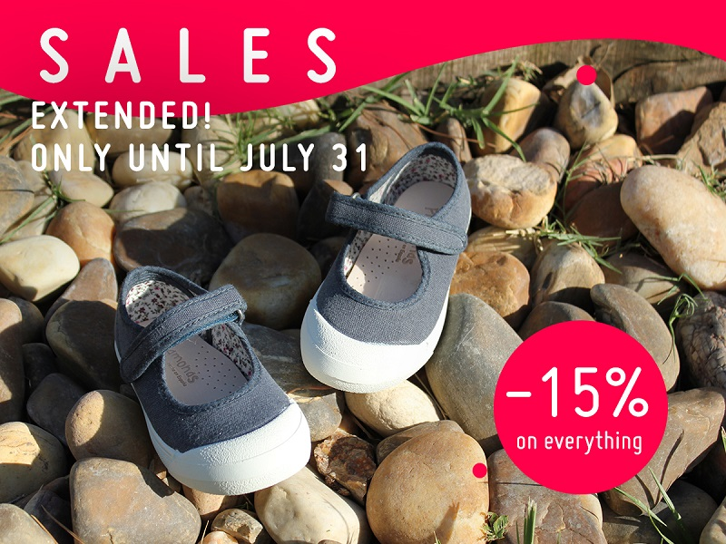 We´ve extended our summer sales