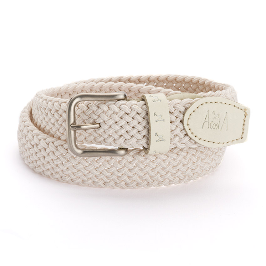 Boy's Elastic Braided Belt