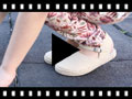 Video from Girls Buckle up Espadrille Wedge