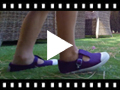 Video from Boys T-Bar Canvas Shoes Rubber Toe