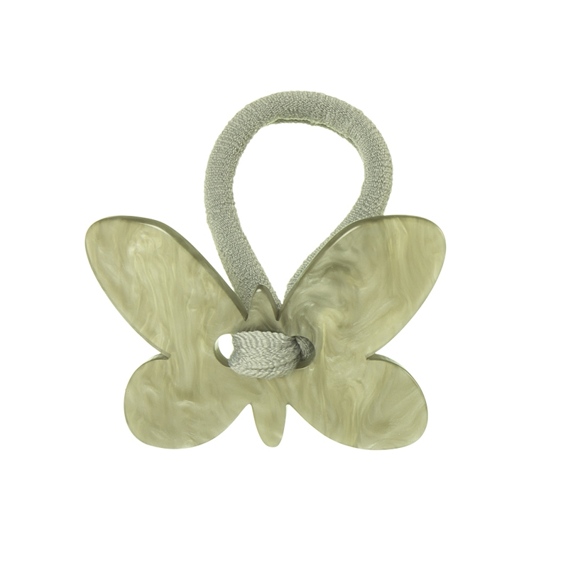 Hair tie with butterfly