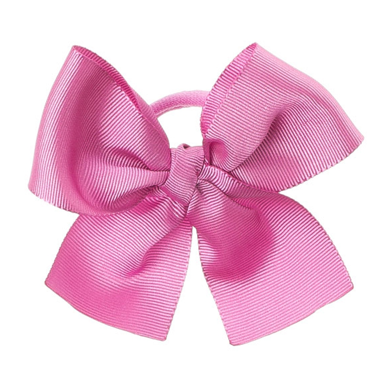 Hair tie with big bow