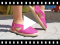 Video from Elasticated Espadrilles for Girls