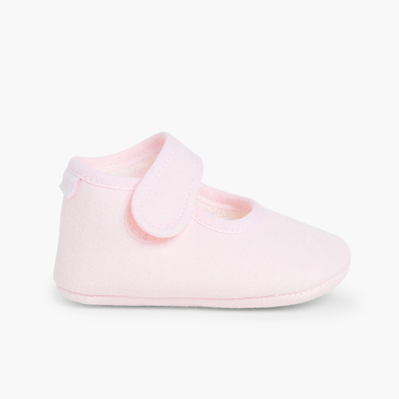 Soft Canvas Baby Mary Janes