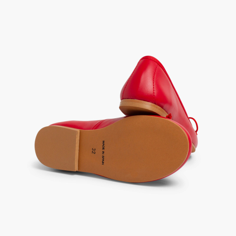 Leather Ballet Pumps