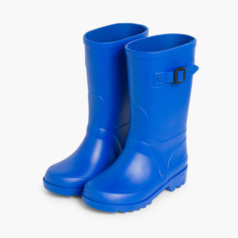 Buckle Strap Wellies for Kids