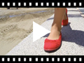 Video from Laced Linen Ballet Pumps