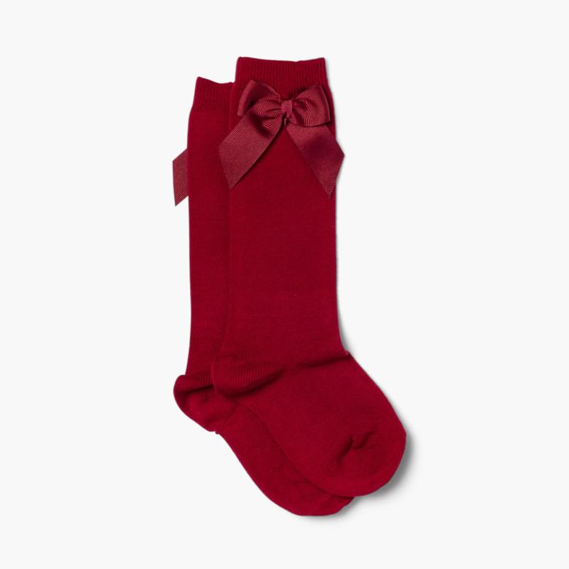 CONDOR High Socks Cotton with Bow