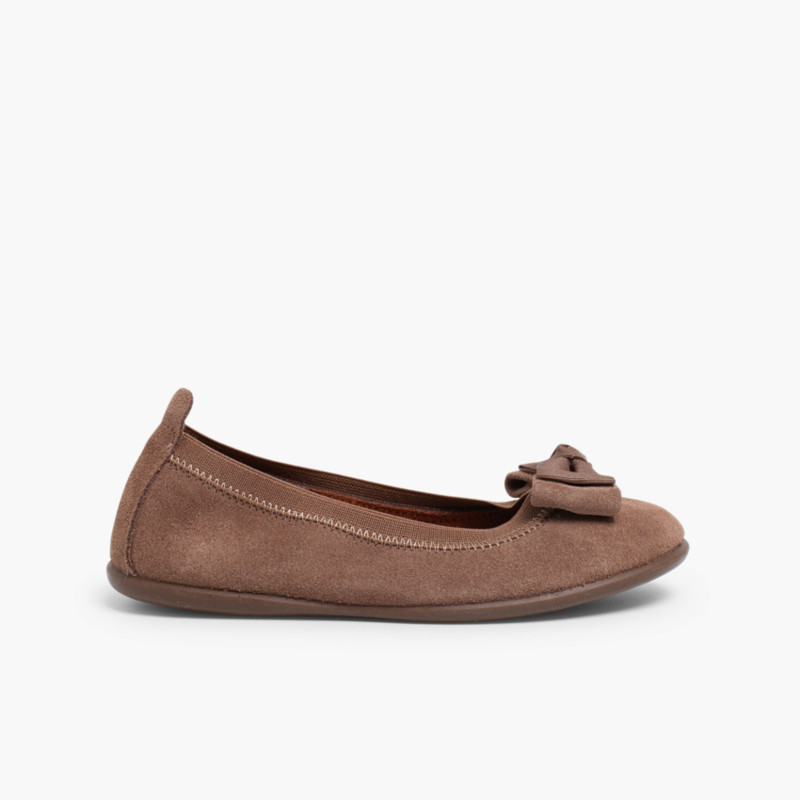 Ballet Pumps with double bows for girls and women