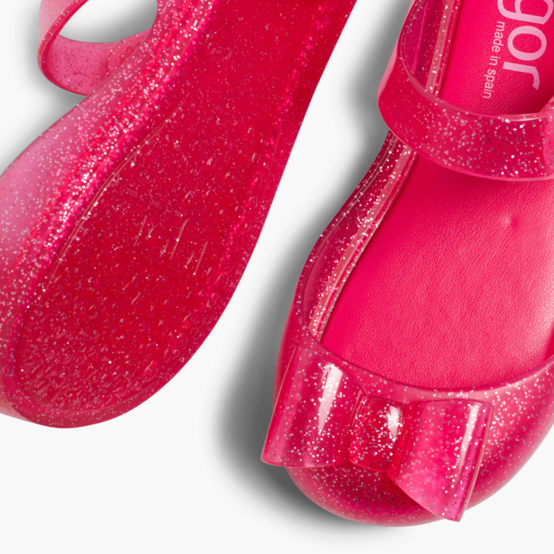299cdff341cf Mary Janes Jelly Sandals Velcro and Bow Mia