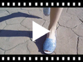 Video from Glitter Menorcan Sandals for Girls and Women