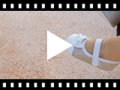 Video from Shiny Baby Mary Janes in Nappa and Leather with Velcro