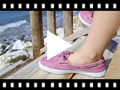 Video from Canvas Boat Shoes with White Soles