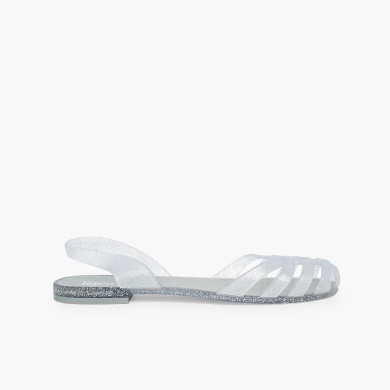 8414a629e304 Rubber Sandals for Women Paris. Quality spanish shoes
