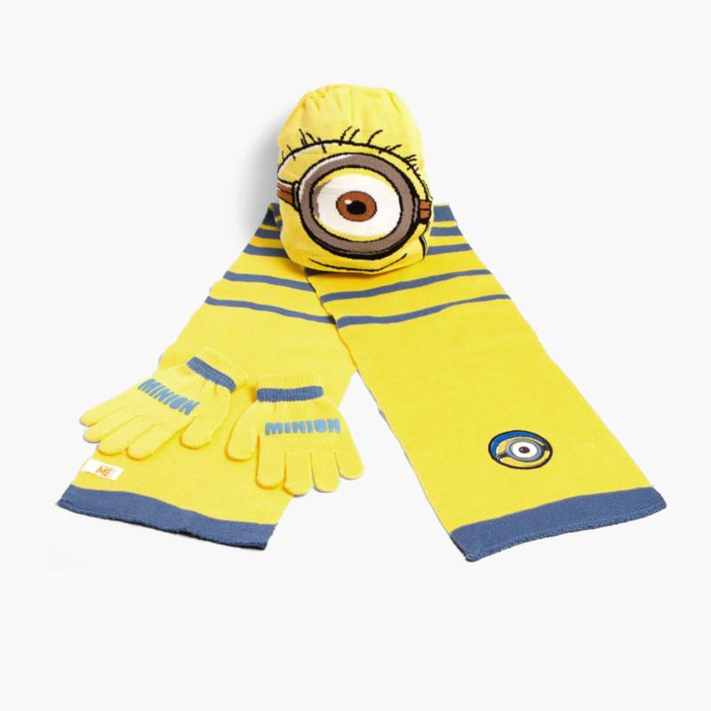 Kids Disney Set: Beanie + Scarf + Gloves