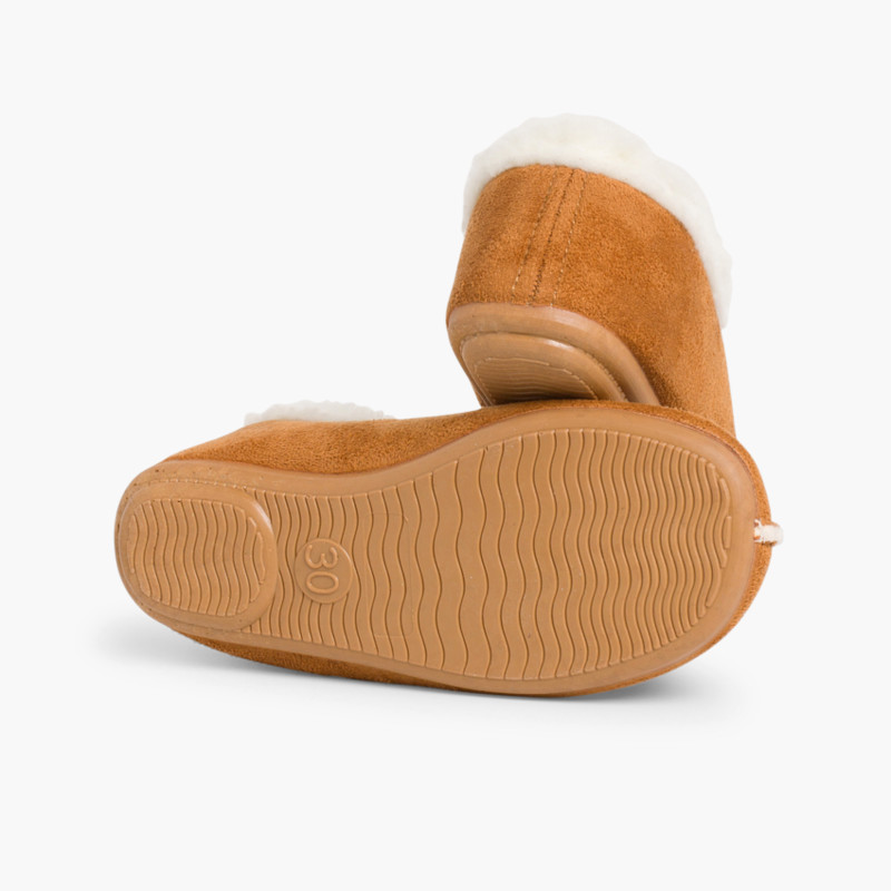 Faux Sheepskin Slippers