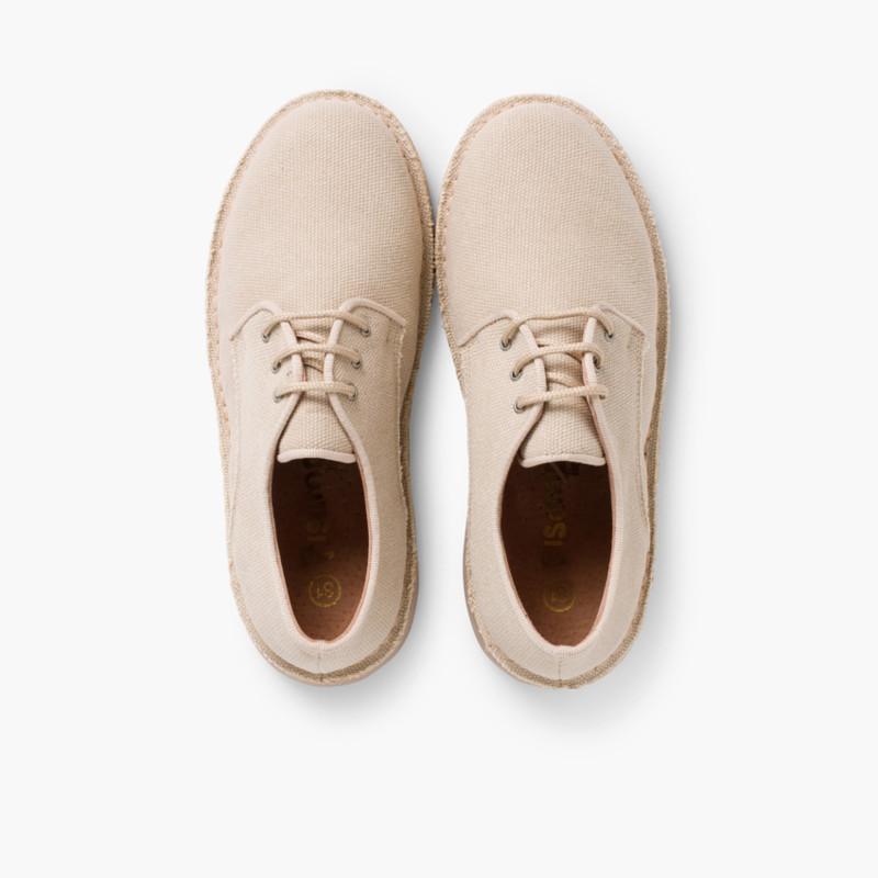 Mens & Boys Canvas Blucher Shoes