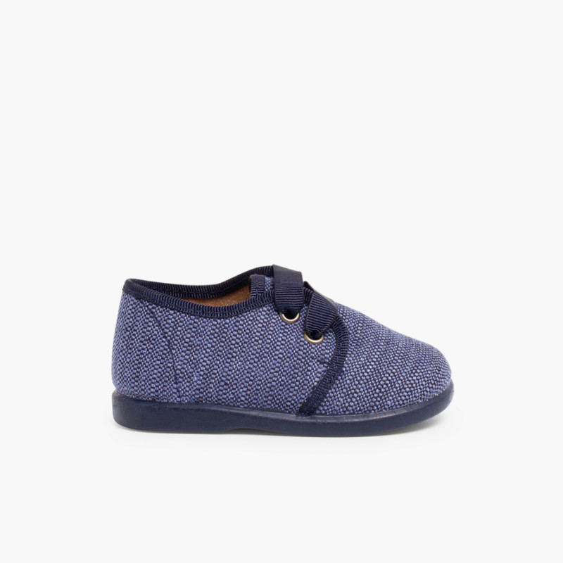 Fabric Blucher Style Baby Shoes