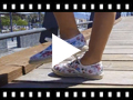 Video from Flower Printed Trainers with Espadrille Soles