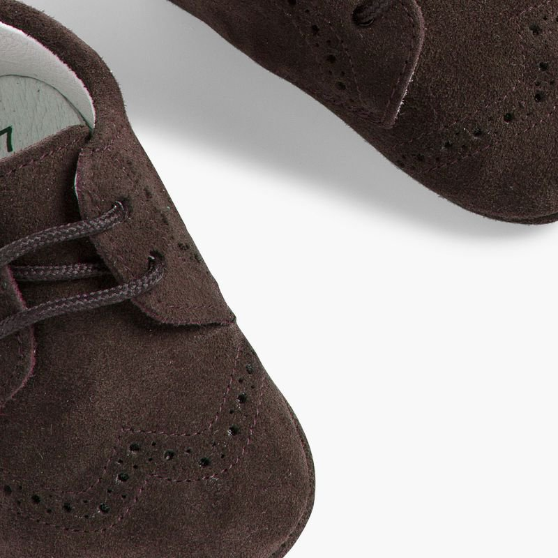 Suede Bluchers for Baby