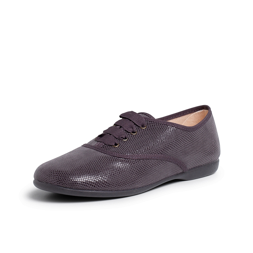 Girl´s and women´s snakeskin-type bluchers