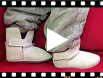 Video from Eskimo Style Booties for Baby