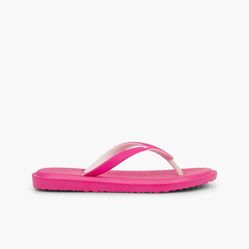 Flip flops kids beach and pool