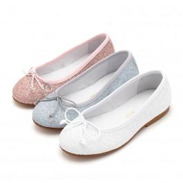 Girls & Womens Glitter Ballerina Shoes