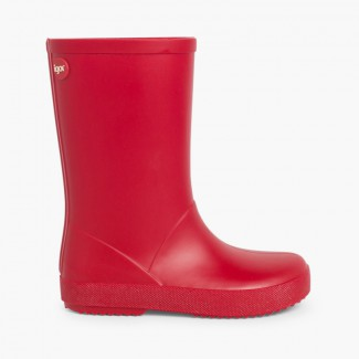Kids Splash Wellies by Igor Red