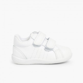 Toddlers Trainers / Baby Sports Shoes White