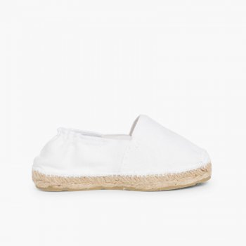 90909528e Kids Espadrilles with Elastic Band made in Spain