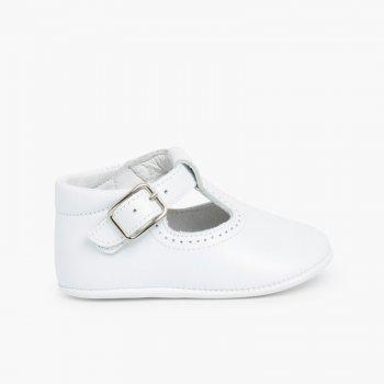 44d9d5d70 Soft Leather T-Bar Baby Shoes. Cheap baby shoes