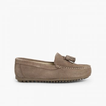 83156a141a7 Boys Suede Tassel Moccasins without mask- Cheap and quality online ...
