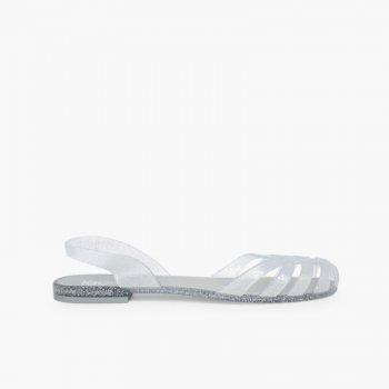 8a786ac23df5 Rubber Sandals for Women Paris Sandalias de Goma para Mujer Cangrejeras  Paris Plata ...