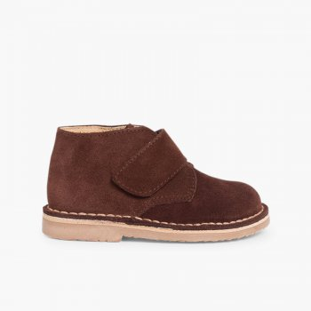1a80a3cf4 Kids Riptape Suede Desert Boots. Chukka Boots Babies and Toddlers