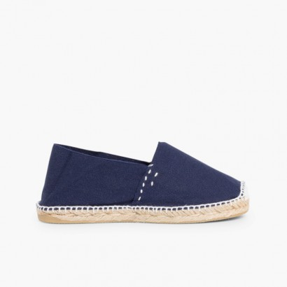 Slip-on Espadrilles for Kids and Adults (S9) Navy Blue