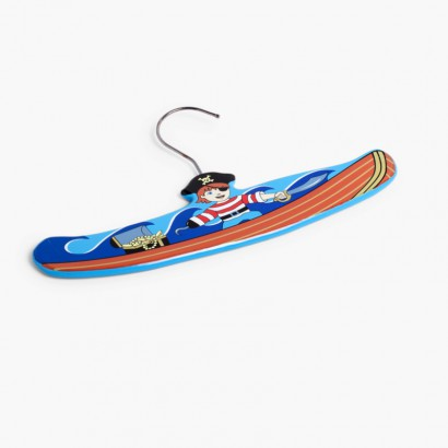 Pack Kids Wooden Hangers   Pirate