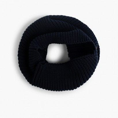 Knitted snood  Navy Blue