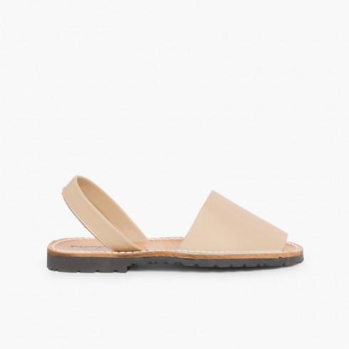 Nappa Avarcas Menorcan Sandals Sand