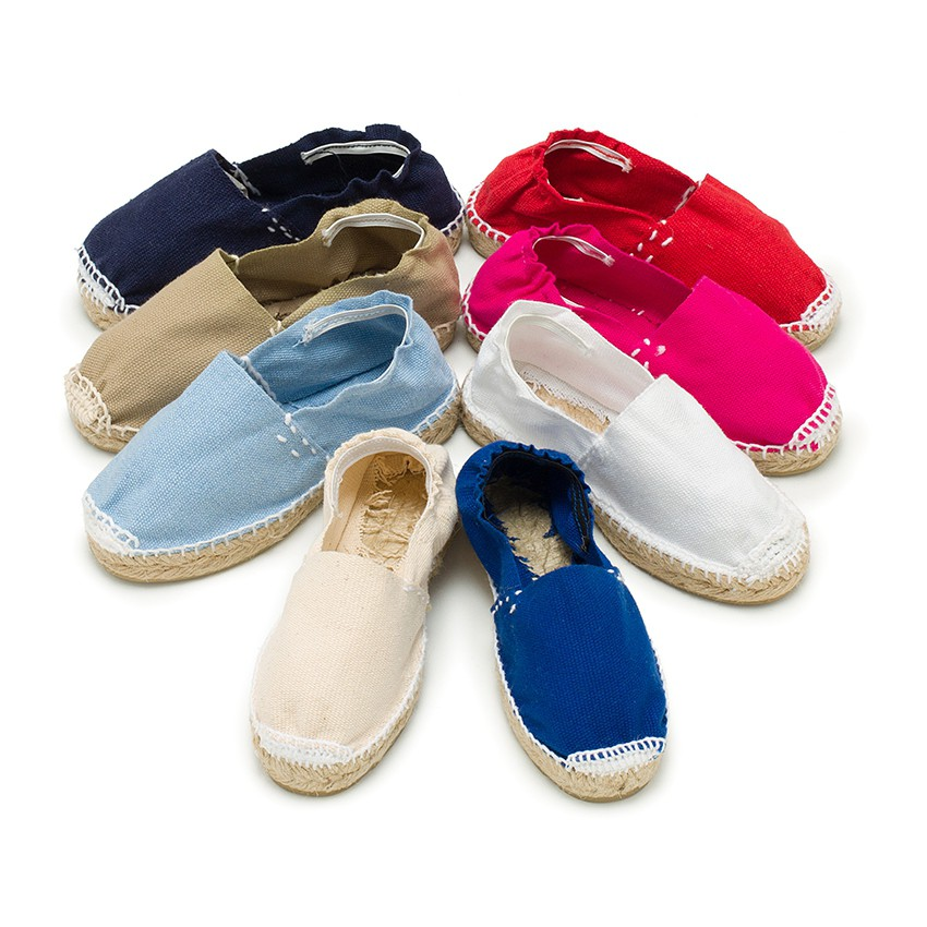 Kids Espadrilles with Elastic Band