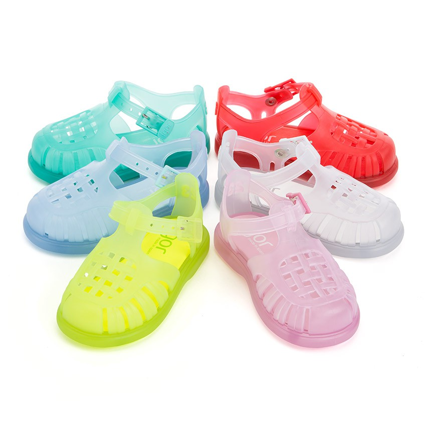 Plain Jelly Sandals