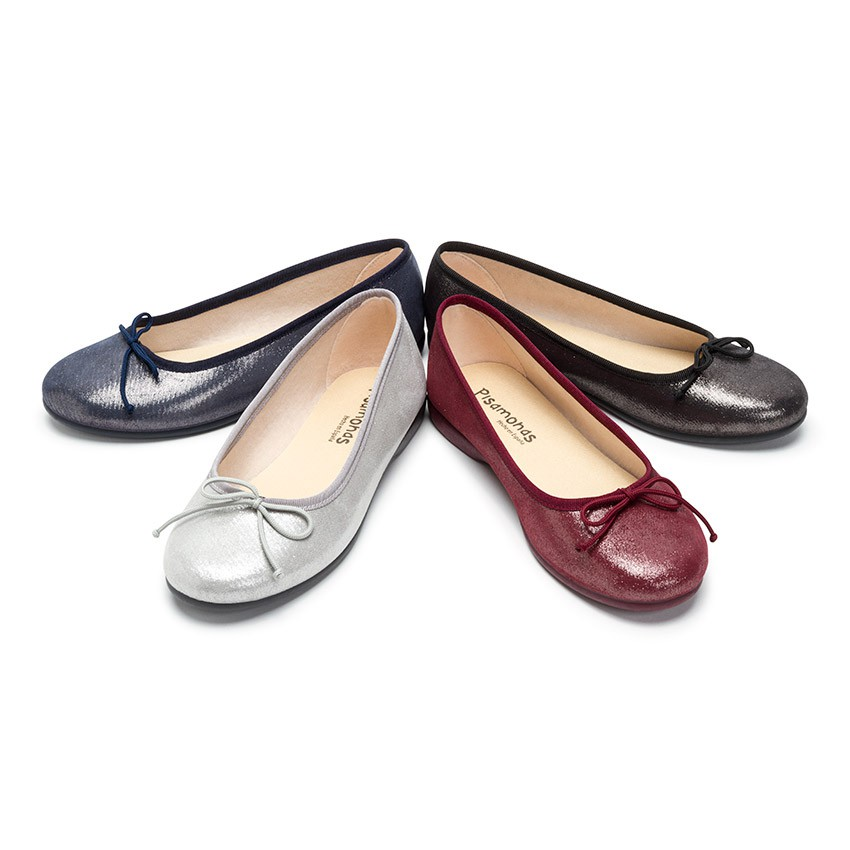 Shiny Ballerinas for Girls and Women