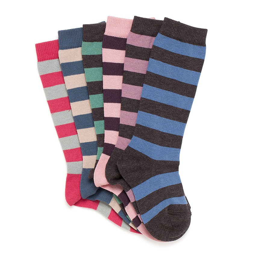 Condor striped high socks