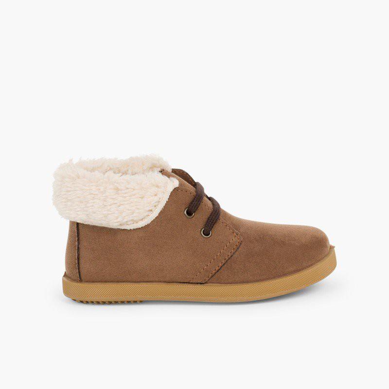 a4b26d3f90b First steps sheepskin style boots | Children's fashion boots