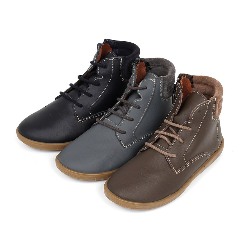 Washable Leather Ankle Boots