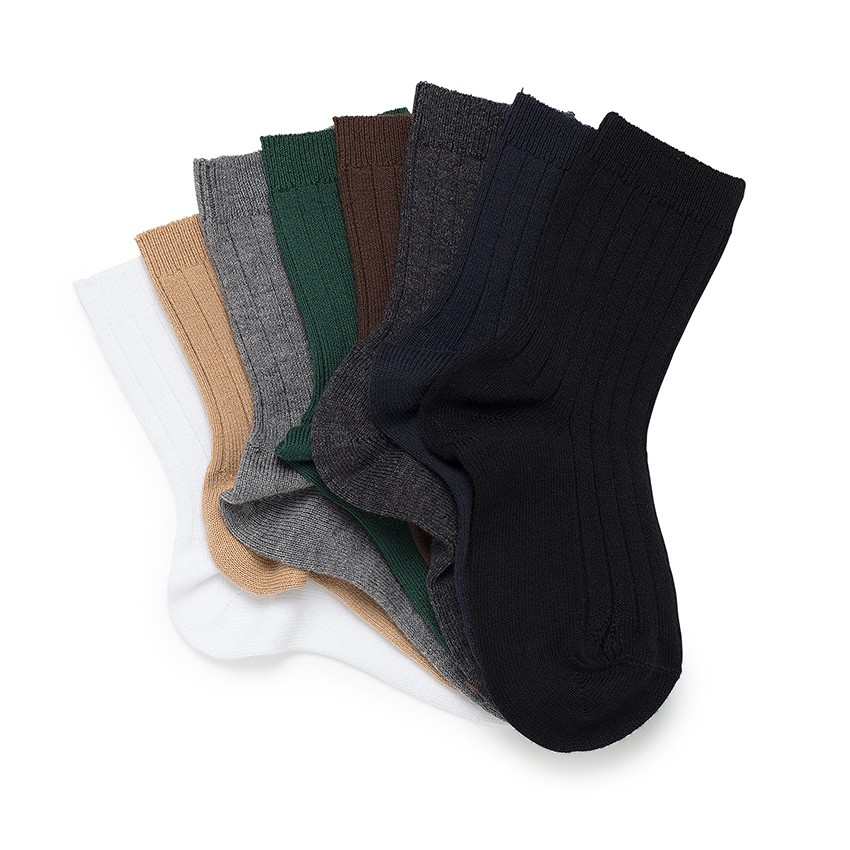 CONDOR Short Ribbed Socks