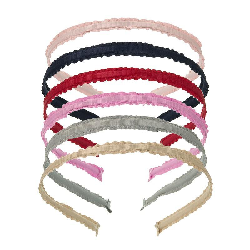 Rigid Headband Scrunchy Material